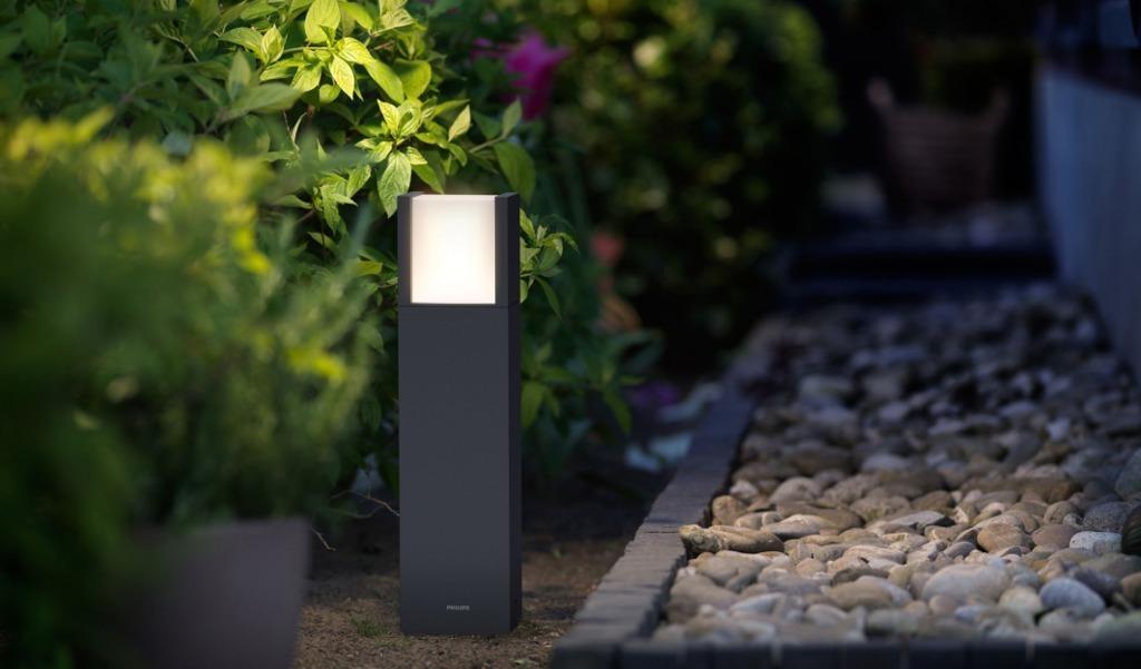 """Philips Sockelleuchte LED-Sockelleuchte """"Arbour"""" 1-flg"""