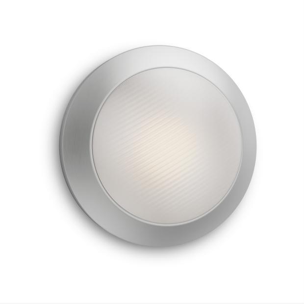 Philips Außenwandleuchte MYG Halo LED Wandaussenleuchte Edelstahl 270lm