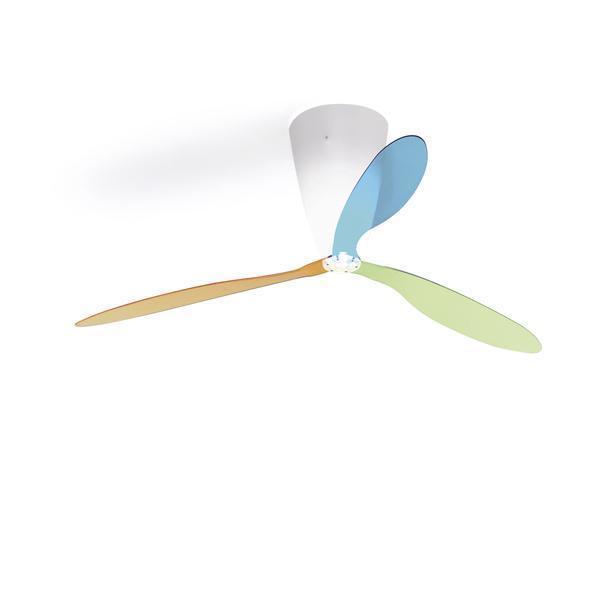 Luceplan Deckenleuchte Blow Inkl. Multicolor-Flügelset Und Fernbedienung