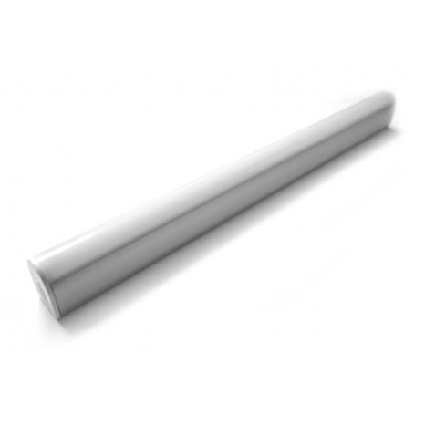 Belle Lux Länge 30 cm weiß 1-flammig halbrund