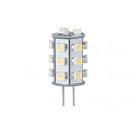 LED NV-Stiftsockel rundum, 1W G4, Warmweiß