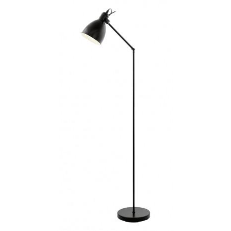 Priddy, 1-flammig, Höhe 137 cm, schwarz-weiß