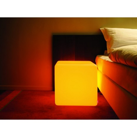moree Cube Indoor LED, Farbwechsel, Höhe 45 cm, Fernbedienung