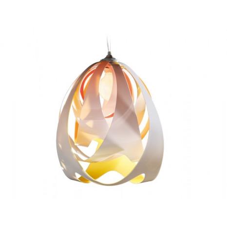 Goccia Höhe 43 cm orange 1-flammig tropfenförmig