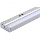 Cabinet Light Länge 90,9 cm metallisch 1-flammig rechteckig