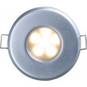 Einbaustrahler Ø 8,3 cm nickel-matt 1-flammig rund