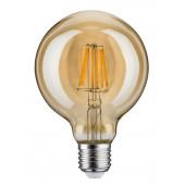 LED Vintage Globe 95, E27, 6W, 500lm, 1700K, dimmbar, gold