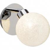 Pacome Höhe 18 cm weiß 1-flammig kugelförmig