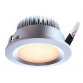LED, 3 Watt, warmweiß, silber