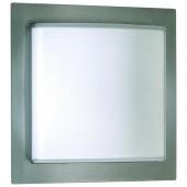Illuminas 26 x 26 cm metallisch 1-flammig quadratisch