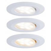 Calla 3er-Set Ø 9 cm weiß 1-flammig rund
