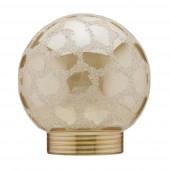 Deco Glas 3 Ø 6 cm gold kugelförmig