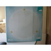 Salome Ø 40 cm weiß 1-flammig rund B-Ware