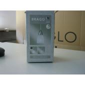 Brago Höhe 14 cm metallisch 1-flammig tropfenförmig B-Ware