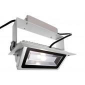LED Downlight Länge 23 cm weiß 1-flammig rechteckig