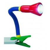 Flexo Höhe 30 cm bunt schwenkbar mit Schalter