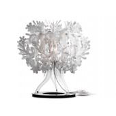 Fiorellina Höhe 34 cm weiß 1-flammig rund