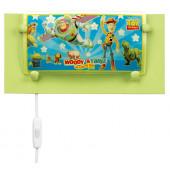 Toy Story Länge 32 cm grün 2-flammig rechteckig