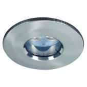 Profi EBL LED Set Ø 8,7 cm metallisch 1-flammig rund