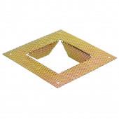 Unterputzrahmen für Fok LED, Frame, u.a. 13,5 x 13,5 cm gold quadratisch