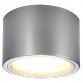 Decken-ABL Ø 25 cm metallisch 1-flammig rund