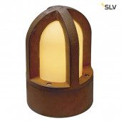 Rusty Cone Höhe 24 cm rostfarben 1-flammig zylinderförmig