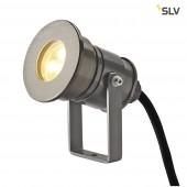 DASAR Projector LED LV, 7W, 3000K, 12V-24V, Alu Eloxiert
