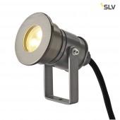 DASAR Projector LED HV, 6W, 3000K, 230V, Alu Eloxiert