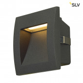 Downunder Out LED S 9 x 9 cm anthrazit 1-flammig quadratisch