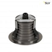 Dasar 150 Premium LED, rund, Alu/Edelstahl, 60°