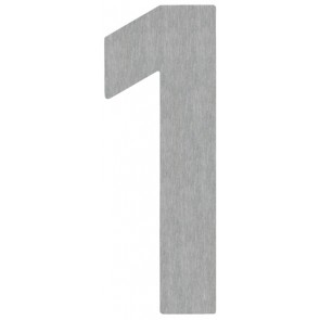 Hausnummer 1, Edelstahl