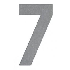 Hausnummer 7, Edelstahl