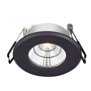 HADES Downlight Black 4W, IP44