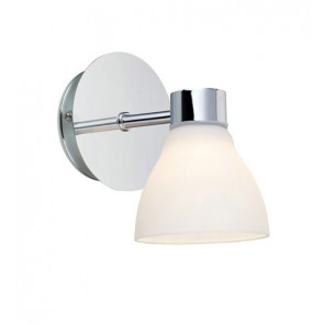 CASSIS Wall 1L Chrome/Opal IP44