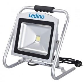 LED-Standstrahler Dahlem50SCB, 50W, 6500K, silb.