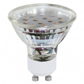 LM-GU10-SMD LED 3W 3000K 2ER-SET