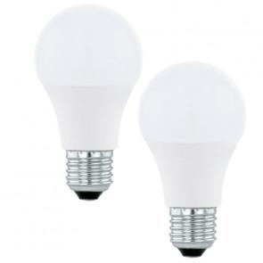 LED-Leuchtmittel 2er-Set E27 6 W 470 lm 3000 K