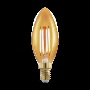 LM-E14-LED KERZE 4W AMBER 1700K 1STK