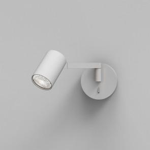 Ascoli Swing Ø 27,6 cm weiß 1-flammig zylinderförmig