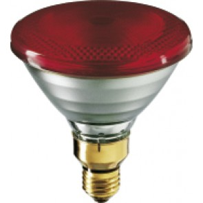 Infrarotlampe PAR38, E27, Infrarot, 300 Std, 150W