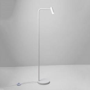 Stehleuchte Enna Floor, 1 x 3W LED, weiß, LED-Kopf dreh/ sch