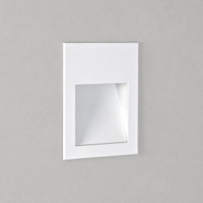 Borgo 54 Höhe 7 cm weiß 1-flammig rechteckig