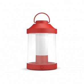 MYG Tragbare LED Laterne Abelia Rot