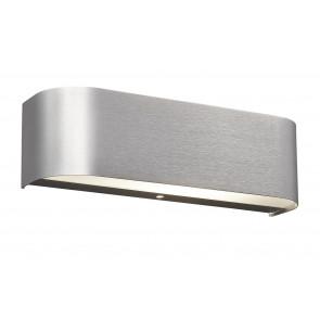 Adriano 30 x 6 cm Aluminium-gebürstet