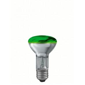 R63 E27 40W 6,3 cm, grün