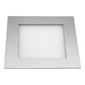LED Panel tageslichtweiß 20 x 20 cm metallisch 1-flammig quadratisch