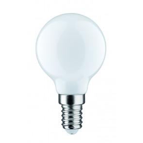 LED Tropfen 2,5W E14 230V Opal 2700K