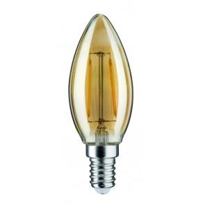 LED Kerze 2,5W E14 230V Gold 2500K