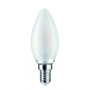 LED Kerze 2,5W E14 230V Satin 2700K