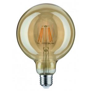 LED Globe 125 6,5W E27 230V Gold 1700K